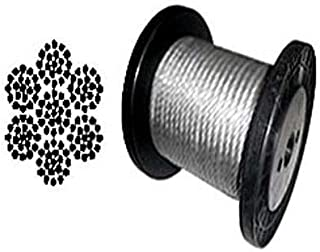 Galvanized Aircraft Cable Wire Rope 1/4