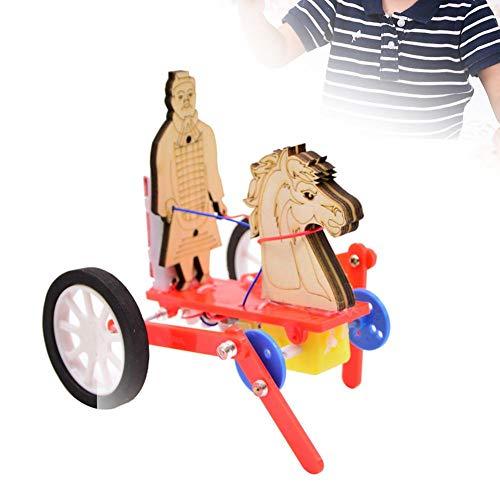 Terra Cotta Warri- of Model, oude Vintage kleine paard auto Model kinderen vergadering DIY educatief speelgoed - geweldig cadeau voor peuters vroeg leren kinderen