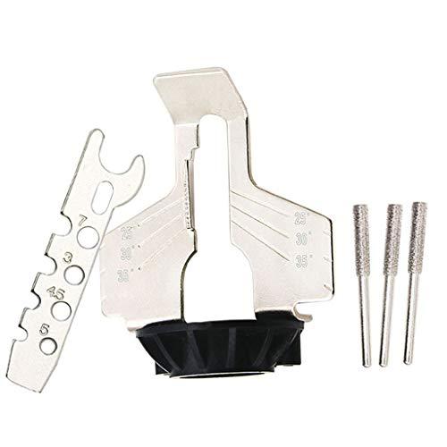 Yintiod Soldeerbout, loodvrij, soldeerpunt, reservesoldeerpuntenset voor soldeerbout, montageapparaat voor kettingzaagslijper, adapter voor boormachines