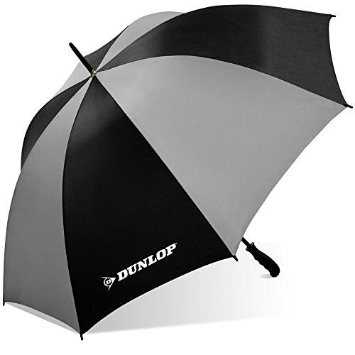 Dunlop Jumbo Golf Umbrella-Ms-56dl Blkgry, Black/Gray, One Size