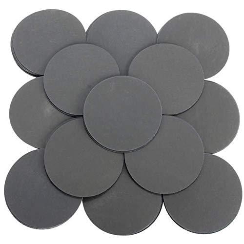 IREANJ Abrasivo de Herramienta abrasiva, 100pcs 3 Pulgadas Grit 3000 Discos de Lijado Auto Adhesivo Mezclado Grit Lijado Pulido Papel de Lija