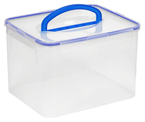 Snapware Airtight Plastic Food Storage Container (29-Cup, BPA Free, Meal Prep, Proof, Microwave, Freezer and Dishwasher Safe)