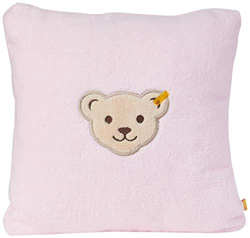 Steiff Baby-Mädchen großem Teddybärgesicht Kissen, BALLERINA, 999
