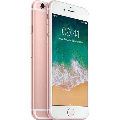 iPhone 6s 32GB Rose Tela Retina HD 4,7 3D Touch Camera 12MP - Apple