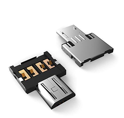 1x Highspeed OTG Adapter Micro USB auf USB 2.0 Typ A B für Android Smartphone