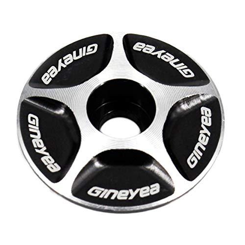 Delicacydex Nuevo Aluminio Threadless 1/1-1/8 Road MTB Bike Stem Accesorios Bici Bicycle Cycling Headset Tapa Superior Nueva Marca Nueva Marca