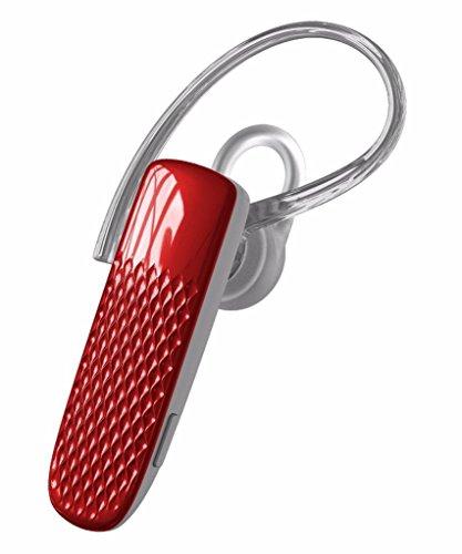 In alluminio spazzolato Bluetooth Headset/auricolare per Microsoft Surface Pro 4/Pro 3/Lumia 950XL/950/550/640/640XL/535/540Dual/430/640XL/535/540Dual/430/532/435(rosso) + Stylus