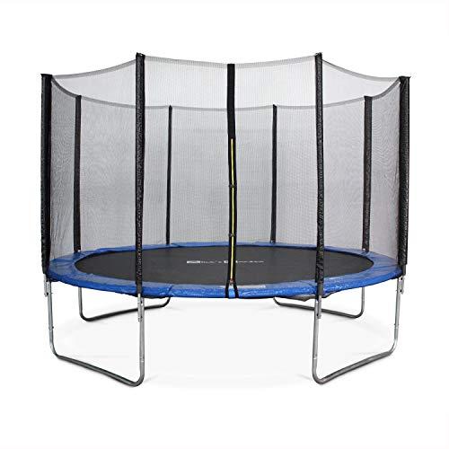Alice's Garden Cama elástica 370 cm, Trampolín para niños, aguanta hasta 150 kg (Estructura Reforzada) - SATURNE