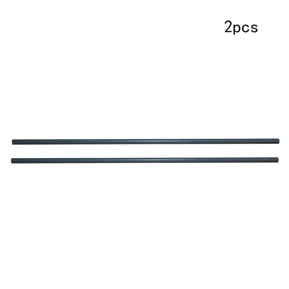 Othmro PVC Plastic Rigid Tube 16mm Inner Diameter 20mm Outer Diameter 1000mm Length Unbreakable Round Grey 1PCS