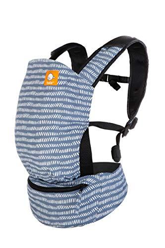 Tula Mochila Portabebé Ultraligera Lite Beyond De Tres Posiciones, Para Bebés De 5,4 A 13,6 Kg. Color Azul