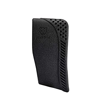 Pridefend Recoil Pad Synthetic Latex Rubber Slip-On Recoil Reducing Pad for Rifle and Shotgun Size Options