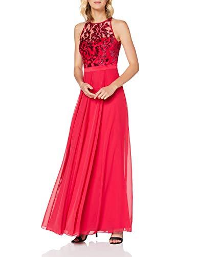 Vera Mont 0029/4825 Vestito Elegante, Rosso (Barberry 4214), 46 Donna