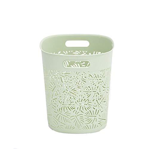 LOVIVER De Plástico De Cocina Creativa Basura Bin A Casa Oficina De Cubo De Basura - Verde