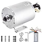 BestEquip 2000W 48V Brushless Motor Kit 42A 4300RPM High Speed Electric Scooter Motor with Mounting Bracket,Speed Controller Bicycle Motorcycle Mid Drive Motor