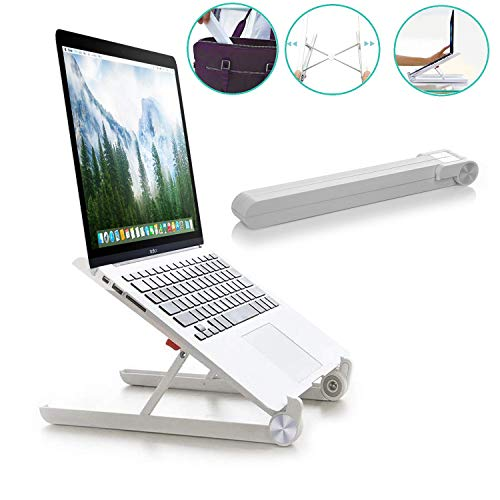 Laptop Stand - Adjustable Laptop Stand for MacBook Notebook Computer PC iPad Tablet - Portable & Foldable