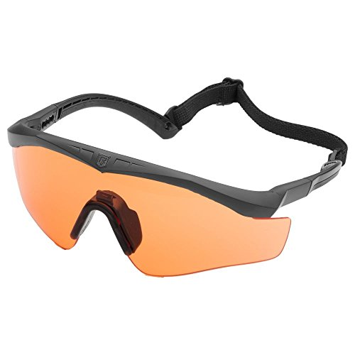 Revision Brille Sawfly Max-Wrap Basic orange Größe M