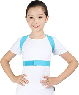 Soutien dorsal et correction de posture Enfants ajustables Posture Correcteur Back Support Clavicule Cerveau de la colonne...
