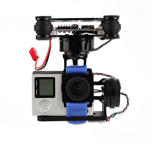 BliliDIY FPV 3 Achsen CNC Metall Brushless Gimbal Mit Controller Für DJI Phantom Gopro 3 4 180G Für Rc Drone FPV Racing