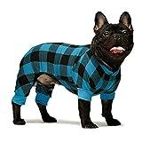 Fitwarm 100% Cotton Buffalo Plaid Dog Clothes Puppy Pajamas Pet...