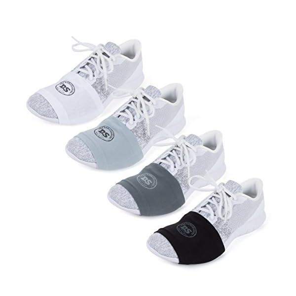 THE DANCESOCKS – 100% USA Made Over Sneaker Dance Socks, Smooth Floors (4 Pair Packs)