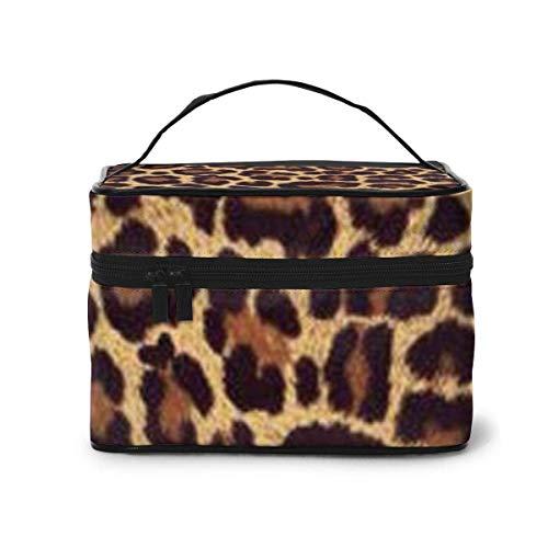Cool Cheetah Leopard Travel Cosmetische Organizer Draagbare Artiest Opbergtas, Multifunctionele Toilettassen