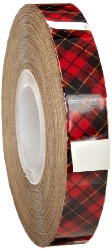 3M 969 ATG Tape: 1/2 in. x 18 yds. (Clear Adhesive on Tan Liner)
