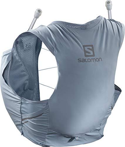 Salomon Womens Sense Pro 5 Set Running Hydration Vest, Ashley Blue/Ebony, X-Large