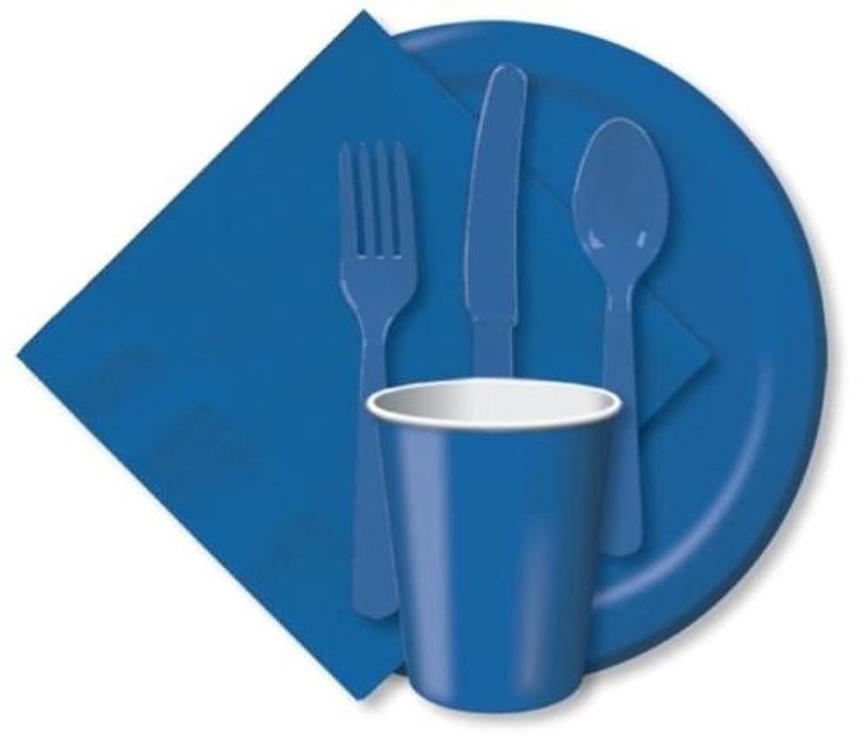 True Blue Plastic Party Bowls x 20
