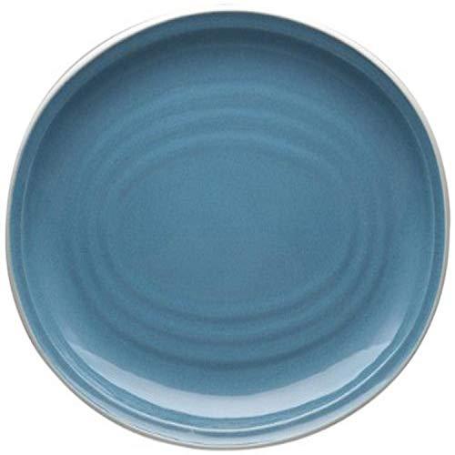 Noritake Colorvara Ovale Servierplatte, 40,6 cm, Blau
