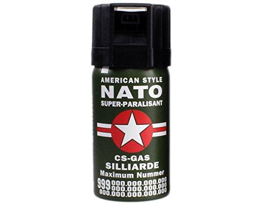 CS- Gas Sicherheit Abwehrspray Nato 1Stk.