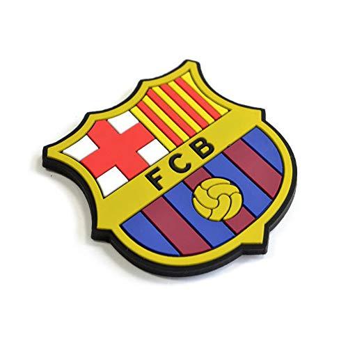 FCB FC Barcelona - Imán para la nevera con el escudo oficial de FC Barcelona