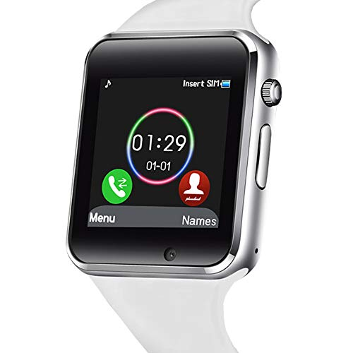 321OU Bluetooth Smart Watch Fitness Tracker (White)