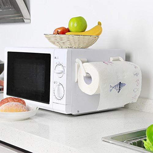 Eternitry Soporte magnético para carrete de toallas, toallero refrigerador lateral pared rollo de papel soporte relajante