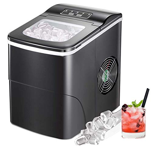 Electactic Ice Maker Machine for Countertop, 26Lbs/24H Por...
