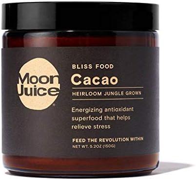 Moon Juice Raw Cacao Powder Organic Antioxidant Mood Boosting Superfood product image