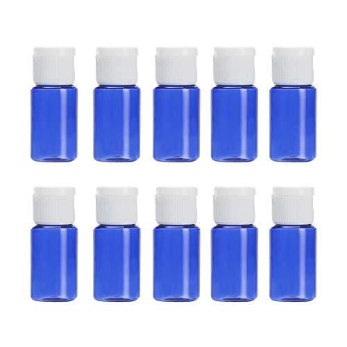 MSYOU 10 ML Mise en Bouteille cosmétique Bouteille cosmétique de Voyage Portable Le Vaporisateur de Maquillage Peut être utilisé dans la Salle de Bain (10 pièces)