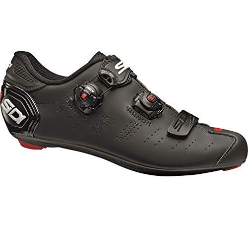SIDI Scarpe Ergo 5 Matt, Scape Ciclismo Uomo, Matte Black/Black, 42