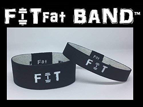 FITfat BAND; Motivation to Meet Your Diet, Weight Loss and Fitness Goals. (Small)