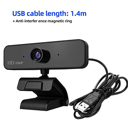 LQ USB HD 1080P Webcam Ingebouwde Microfoon Auto Focus High-End Video Call Computer Peripheral Web Camera voor PC Laptop
