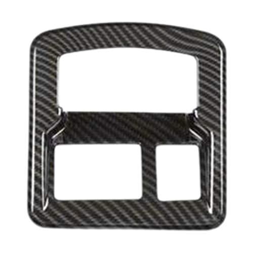 JIS Cubierta del Botón del Interruptor De La Luz Delantera del Coche Fit para Land Rover Range Rover Velar 2017-2019