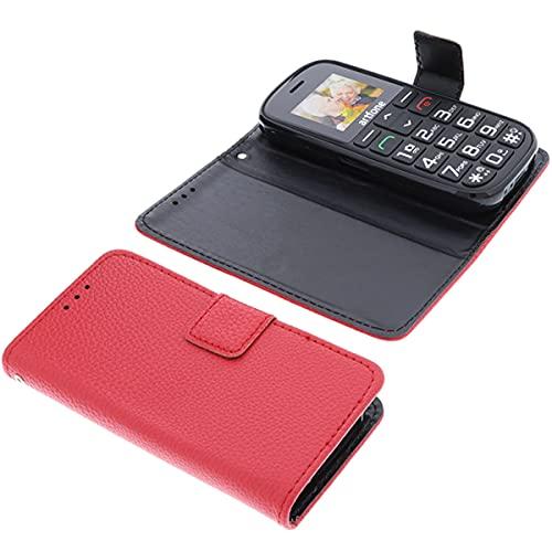 foto-kontor Tasche für Artfone CS188 Book Style rot Schutz Hülle Buch