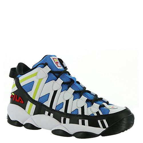 Fila Stackhouse Spaghetti Men's Basketball 9 D(M) US White-Black-Electric Blue