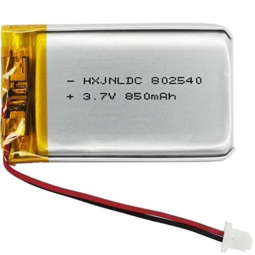 802540 Batteria al litio 3.7v 850mAh per Sena 10S Sena 10S-01 Sena 20s serie Sena 20s-01 Sena 20s evo Sena 30K serie Sena 30K-01D Moto auricolare Bluetooth Sostituzione della batteria Interfono