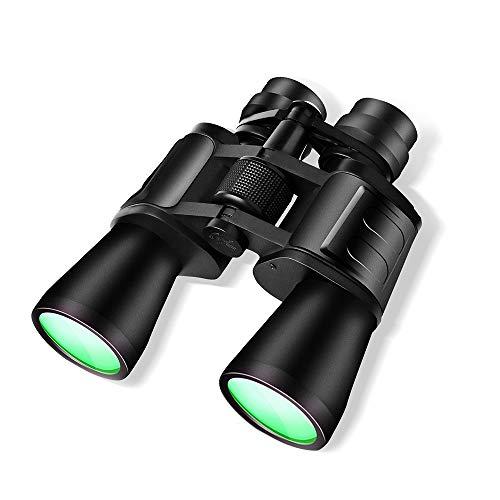 Lixada Microscopios Binoculares Prismáticos Telescopio 60x50X con Doble Barril de Alta Definición de Visión Nocturna con Poca Luz Prisma BAK-4 22 mm Diámetro de Lente Ocular con Regalo de Bolsa