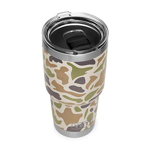 YETI Rambler 30 oz Stainless Steel Vacuum Insulated Tumbler w/MagSlider Lid, Camo