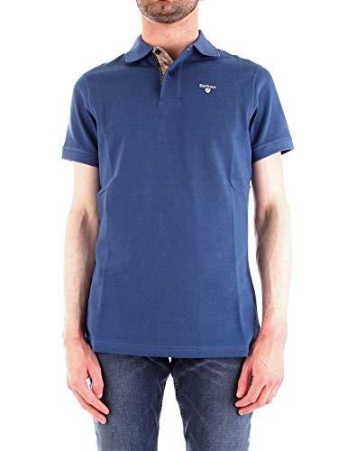 Barbour Luxury Fashion Herren BAPOL0119BLUE Blau Baumwolle Poloshirt   Frühling Sommer 20