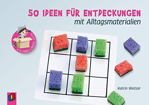 Kita-Kinder-Lernspiel-Kisten.50 Ideen für Entdeckungen mit Alltagsmaterialien
