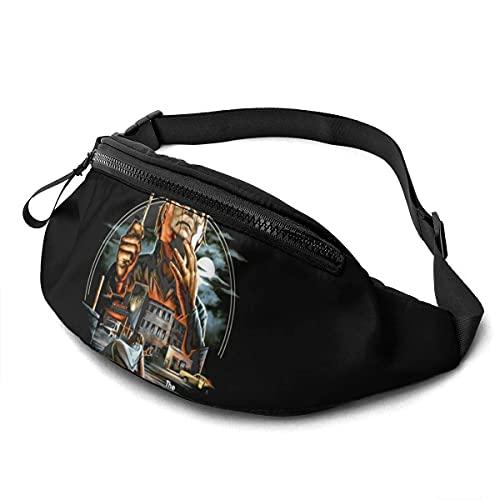Gürteltasche Verstellbare Sling-Tasche Fashion Hip Gürteltasche für Frauen Männer Outdoor Casual Reisen Michael Myers