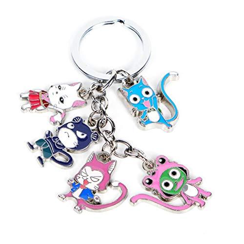 Schlüsselbund Schlüsselanhänger Fairy Tail Lucy Protoss Schlüssel Hobby Puppe Legierung Handwerk Schmuck Anhänger Keychain Schlüssel Ring