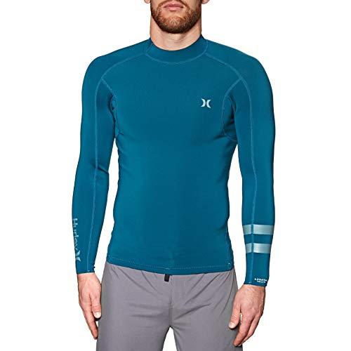 Hurley M Advantage Plus 1/1 Jacket Neopreno, Hombre, Blue Force